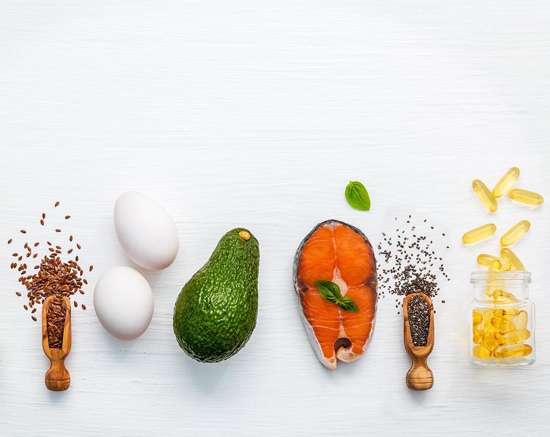 omega-3 og omega-6 - essentielle fedtsyrer